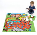 Swimming Pool Jumbo Puzzle,Jumbo floor puzzles,children's jumbo floor puzzles